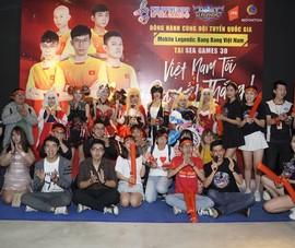 Đội tuyển thể thao điện tử VN tham dự SEA Games 30