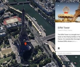 Cách đi du lịch khắp thế giới nhờ Google Earth