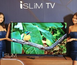 3 mẫu tivi 'dán tường' có kích thước siêu mỏng