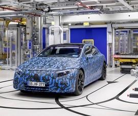 Mercedes sắp sản xuất xe điện trên toàn cầu