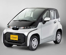Xuất hiện mẫu ôtô điện mini siêu nhỏ gọn