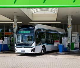 Hyundai bất ngờ thử nghiệm xe buýt chạy pin nhiên liệu hydro