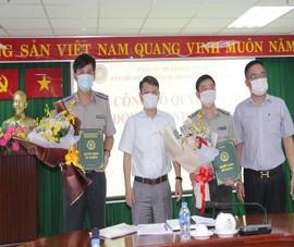 Nhân sự mới Cục Thi hành án dân sự TP.HCM