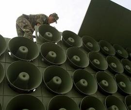Hàn Quốc tái khởi động hệ thống loa tuyên truyền