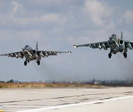 Su-25 Nga thả 6.000 quả bom trong chiến dịch ở Syria
