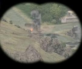 Đài Nga gắn clip game bắn súng mô tả chiến tranh Syria