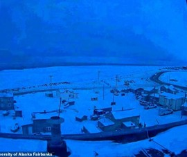 Thị trấn ở Alaska trải qua 65 ngày không thấy mặt trời