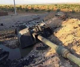 Tên lửa Nga 'thổi tung' pháo tự hành Thổ Nhĩ Kỳ ở Syria?