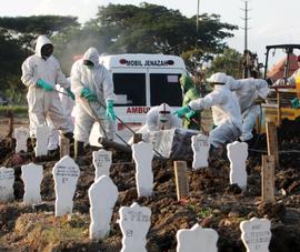 Indonesia báo động tình trạng cướp xác người chết vì COVID-19