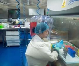 Trung Quốc tiết lộ hình ảnh bên trong phòng thí nghiệm Vũ Hán