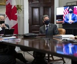 Ông Biden, ông Trudeau nhất trí phối hợp 'chống Trung Quốc'