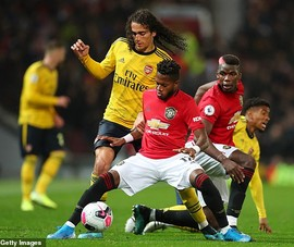 Hậu vệ mắc sai lầm, MU bị Arsenal cầm chân tại Old Trafford