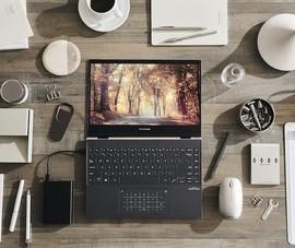 Lộ diện mẫu laptop trang bị màn hình OLED xoay gập 360 độ