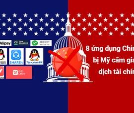 8 ứng dụng của Trung Quốc bị Mỹ cấm giao dịch tài chính
