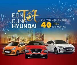 Hàng loạt mẫu xe Hyundai giảm giá sốc trong tháng 12