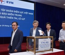 EVN hỗ trợ đồng bào miền Trung hơn 2 tỉ đồng