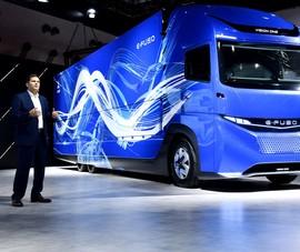 FUSO ra mắt xe tải, xe khách điện E-FUSO