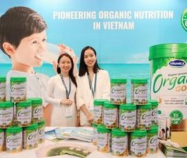 Vinamilk và câu chuyện phát triển sản phẩm dinh dưỡng Organic