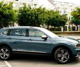Ra mắt SUV cao cấp 7 chỗ: VW Tiguan Allspace LUXURY