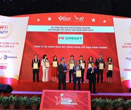 FE CREDIT nhận 2 giải thưởng lớn do Việt Nam Reporrt bình chọn