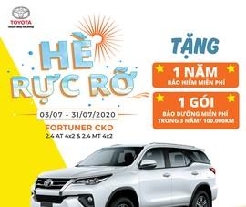 Mua ngay Toyota Fortuner, nhận ngay ưu đãi tháng 7