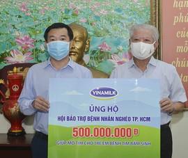 Vinamilk hỗ trợ 500 triệu đồng mổ tim cho trẻ em nghèo