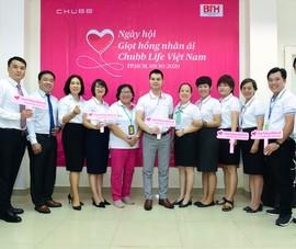 Chubb Life Việt Nam: 100 tình nguyện viên hiến máu nhân đạo