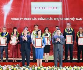 Chubb Life Việt Nam: Top 500 doanh nghiệp lợi nhuận tốt nhất