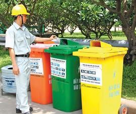 Sẽ thu phí rác thải tính theo khối lượng…