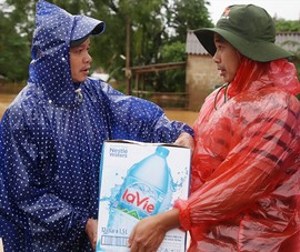 Nestlé Việt Nam hỗ trợ đồng bào miền Trung