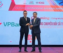 """VPBank nhận giải thưởng """"Ngân hàng chuyển đổi số tiêu biểu"""""""