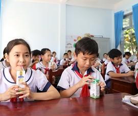 Phụ huynh-thầy trò Bến Tre hài lòng chương trình sữa học đường