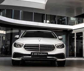 Mercedes-Benz Việt Nam ra mắt mẫu xe E-Class nâng cấp mới