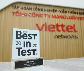 Viettel liên tục đứng đầu đo kiểm về chất lượng mạng di động