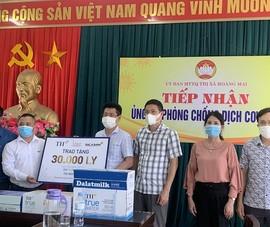 Tập đoàn TH ủng hộ 30.000 sản phẩm sức khỏe để chống COVID-19