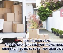 Dịch vụ Taxi tải Hà Nội - Sài Gòn của Kiến Vàng