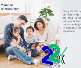 """Manulife Việt Nam tiếp tục cam kết vì cuộc sống """"Tốt hơn mỗi ngày"""""""
