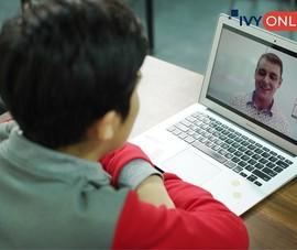 Ra mắt IvyOnline đào tạo tiếng Anh và du học trực tuyến