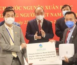 Ông David Duong tặng thêm 1.000 máy thở cho Việt Nam