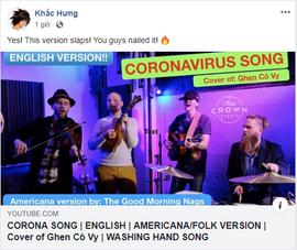 Nhóm nhạc Mỹ cover Ghen Cô Vy, họ là ai
