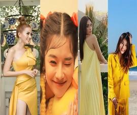Mỹ nhân Việt khoe sắc vàng quyến rũ