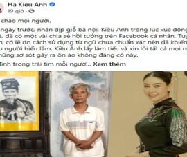 Hà Kiều Anh xin lỗi về chia sẻ 'công chúa đời thứ 7 triều Nguyễn'