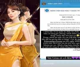 Ca sĩ Tóc Tiên ủng hộ máy trợ thở cho Bệnh viện ĐH Y Dược TP.HCM