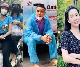 Hoa hậu Tiểu Vy, Ngọc Thảo, MC Quyền Linh làm thiện nguyện mùa dịch