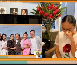 Ca sĩ Đoan Trang bật khóc nhớ gia đình tại 'Ngày xưa chill phết'