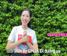 MC Quỳnh Hoa hát 'Những trái tim nghĩa tình' cảm ơn tình nguyện viên mùa dịch