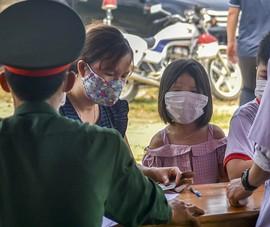 Thừa Thiên-Huế bắt đầu kiểm tra y tế tại các chốt chặn