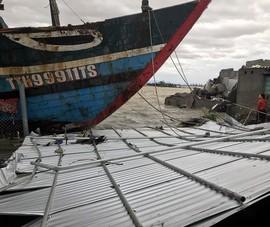 Hình ảnh về thiệt hại do bão số 13 ở Thừa Thiên - Huế