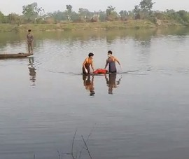 Phát hiện thi thể người đàn ông trên sông Bồ