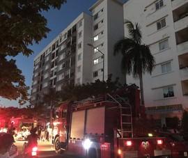 Cháy một căn hộ tại chung cư Vicoland Huế